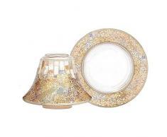 Yankee Candle Paralume e Piattino Mosaico Oro