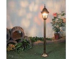Acquista lampada da tavolo belleville in stile antico lampade