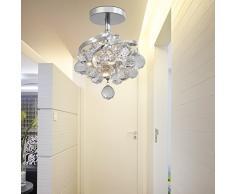 OOFAY LIGHT® Cristallo Semplice ed elegante lampade da soggiorno camera da letto lampadario lampadario di cristallo lampadario ristorante