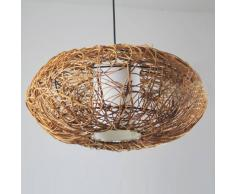 Luci ad energia solare in rattan groupon goods