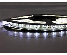 STRISCIA A LED SMD 3528 300LED 5 METRI BOBINA STRIPT HIGHT LUCE IMPERMEABILE top