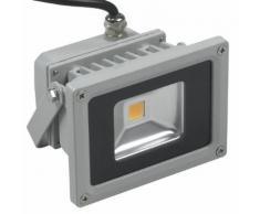 Faro faretto a led per esterno alta luminosità illuminazione luce bianca fredda 10 Watt