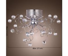 Plafoniere Con Gocce Di Cristallo : Lampadario moderno » acquista lampadari moderni online su livingo
