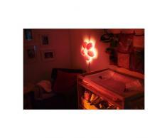 SMILA BLOMMA applique, rose clair, Profondeur : 7,5 cm Diamètre : 34 cm-Longueur de câble : 2.5 m, donne une douce ambiance light.Suitable pour une utilisation avec une ampoule à économie d'énergie produisant une faible chaleur.