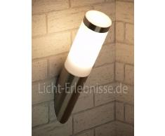Lampada da parete / Fiaccola / Lampada per esterni / Luce per Giardino / IP44 / RA2/1/804