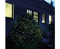 200 LED Tenda Rete Natalizia Luci Natale 3 x 3 metri per Interni/Esterni