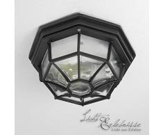 Plafoniere Da Esterno In Vetro : Plafoniere da esterno illuminazione giardino tipologie di
