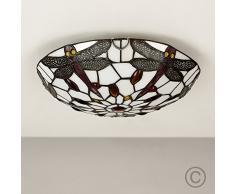 Plafoniere Stile Tiffany : Lampada tiffany acquista lampade online su livingo
