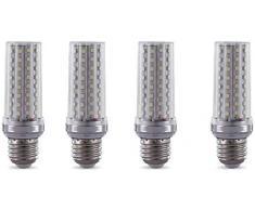 Dmygo 4 Pack LED del cereale della lampadina 20W (2000 lumen 200 Watt alogena Equivalente) Edison Vite for lampadario da soffitto a sospensione da tavolo da parete Apparecchio di illuminazione, bianco