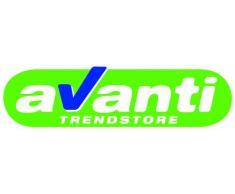 AVANTI TRENDSTORE - Lampadario a sospensione bianco, ca. Ø:45cm A:38cm P: max. 120 cm