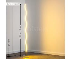 Lampada a stelo Dillon Lampada a stelo minimalista con luce bianca calda a LED 3000 Kelvin 12 Watt 1000 Lumen