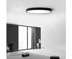 LED Lampada da soffitto Altra-sottile Lampada a sospensione moderna Soggiorno moderno / ufficio Studio nordico / Bobalcony Illuminazione, luce bianca 60 * 5cm bianco 48W