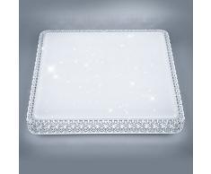 Plafoniera Quadrata Bagno : Plafoniere quadrate color bianco da acquistare online su livingo
