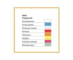 Kartell Small Fl/Y Lampada a Sospensione, E27, 15 W, LED, Arancio