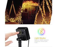 Mpow PAGECD039AW-UKAA2 200 LED Lanterne Stringa Solare, stringa decorativa impermeabile , 22 m