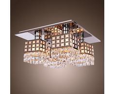 Glighone Plafoniera Decorativa Lampatario Moderno Lampada a Sospensione Elegante Illuminazione a Soffitto per Soggiorno Sala Corridoio Camera da Letto Attacco E27