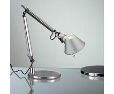 Artemide Tolomeo Micro Lampada Tavolo con Base Alluminio