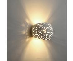LED applique Lampada da Parete contemporanee con 5W LED Illuminazione A PareteTipo di protezione G9 Protezione ambientale del gesso Lampade a parete Bianco caldo