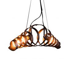 Lampada Vintage Industriale : Lampadario in ferro battuto » acquista lampadari in ferro battuto