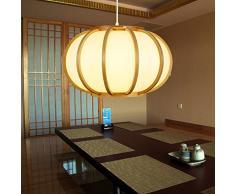 Giapponese Sala tatami e tradizionali lanterne giapponese lampada di zucca lampade a Sospensione