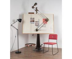 Zuiver 5000951 - Lampada da lettura, 25 x 25 x 167 cm, colore: nero opaco