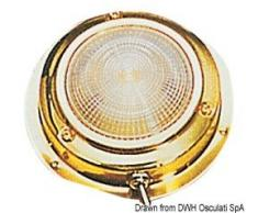 Plafoniera ottone 140 mm