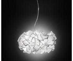 Slamp Lampada a Sospensione Clizia bianco