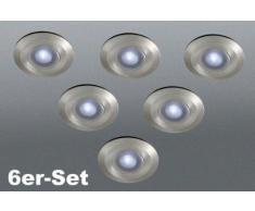 17080-47-10 Faretti-LED Pavimento 6-Fuochi Ramsgate