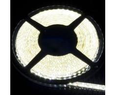 STRISCIA LED 5M SMD 3258 LED BIANCO FREDDO LED 5M 500CM Impermeabile 600LED 3528 SMD Lampada Calda Bianca Tubo Neon showcase LD122