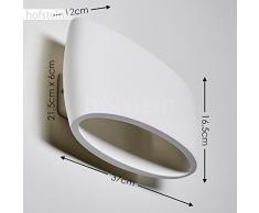 Appliques moderne hofstein color bianco da acquistare online su