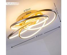 Plafoniera LED Dimmerabile Manning, Lampada da Soffitto Stile Moderno Elegante, Plafoniera LED con Opzione Dimmer per Illuminazione Personalizzabile, per Salotto Zona Living Camera da Letto