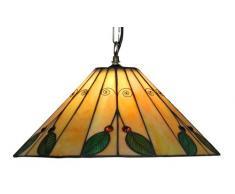 Oaks Lighting, Lampada a sospensione Tiffany, 40,5 cm