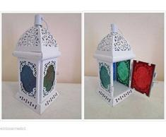 Lanterna lampada porta candela etnico chic africano orientale Marocco moroccan