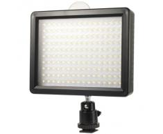 160 LED Video Luce Camcorder DSLR Camera Luce Per Canon Nikon + Filtro LF182