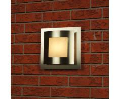 Ranex 5000.345 Helsinki Lampada da Parete da Esterno in Acciaio Inossidabile, eco alogena, spina/presa, tipo di montaggio: surfaced