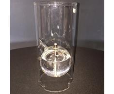 Peri Glass – 1201 lampada a olio portacandela in vetro altezza 22 cm
