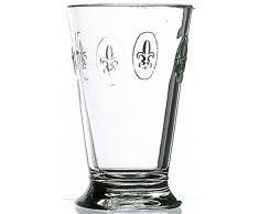 La Rochere - Bicchieri da longdrink con gigli decorativi