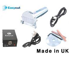 EASYCUT + supporto in omaggio (valore £14,98) elettrico Doner Kebab Coltello Cutter in metallo inox