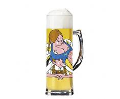 Ritzenhoff, Boccale da birra con sottobicchieri, Multicolore (Mehrfarbig)