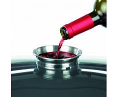 GSW 860956 Set wok pentola in ghisa professionale multifunzione/con coperchio in vetro 5 pezzi/6,2 L, Nero, 32 cm, 5 unità