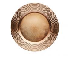 Kitchen Craft Winter Woodland - Sottopiatto, motivo: scanalato, colore: oro scuro