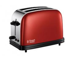 Russell Hobbs 18951-56 Tostapane Colours Flame Red, Rosso