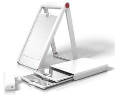 Emsa 507 270 - grattugia / taglierina manuale, in acciaio inox, 32 x 3,8 x 14,5 cm, bianco
