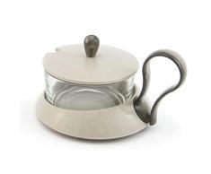 Tre Ti Gaia più Formaggera/Zuccheriera, Tortora, Taglia Unica