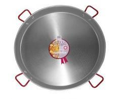 Paelleras EL CID - Padella per paella in acciaio lucido, diametro: 100 cm