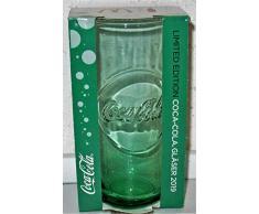 /Coca-Cola / Vetro/Bicchieri/Edizione Limitata/Verde/MC Donalds / 2019 / Nuovo