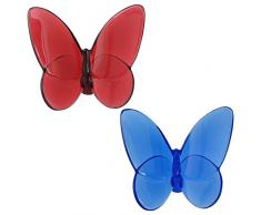 Baccarat Papillon Butterfly Lovers Set Due Farfalle 2812470