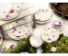 Villeroy & Boch Mariefleur Piatto da Dessert, 21 cm, Porcellana Premium, Basic Fiorato