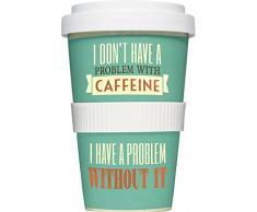 """Tazza da caffè americano con scritta """"I don' t have a problem..."""""""