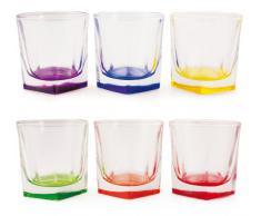 Bicchieri colorati su visioni modelli e offerte for Bicchieri colorati vetro